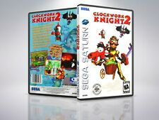 Clockwork Knight 2 - Saturn - Replacement Case / Cover - (NO GAME)