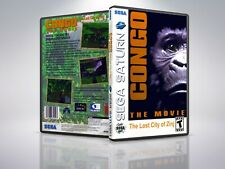 Congo The Movie - Saturn - Replacement Case / Cover - (NO GAME)