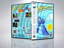 Mega Man 8 - Saturn - Replacement Case / Cover - (NO GAME)