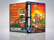 The Horde - PAL - Saturn - Replacement Case / Cover - (NO GAME)
