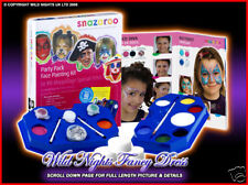 SNAZAROO PAINTS - FACE PAINTING KITS + FACE PAINT