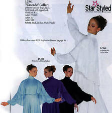 Liturgical Praise Dance Angel Wing Cape Collar 941