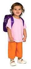Dora the Explorer Deluxe Child Costume w/Backpack T-S-M