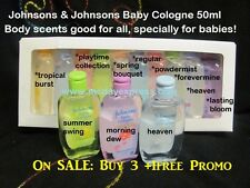 50ml Johnson's Baby Cologne Fragrance Perfume Body Mist Adult Women/Men Girl/Boy
