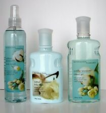 Bath & Body Works~Body Lotion~Shower Gel~ Fragrance Mist/Splash Lot of 3