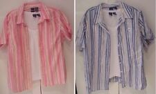 Women's top plus size two piece twin set tank + shirt blouse pretty 1X, 2X, 3X