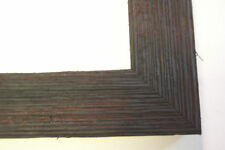"""1.5"""" Wide Rough Black Barnwood Picture Frame-Panoramic"""