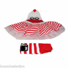 Wally Nerd Tutu Skirt 1980 Fancy Dress Glasses Hat Legwarmer Socks Hen Party