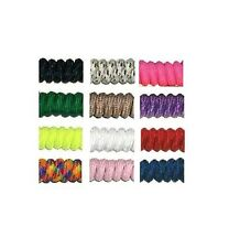 No Tie Curly Shoe Laces 10 Color Choices special needs fits adult or child