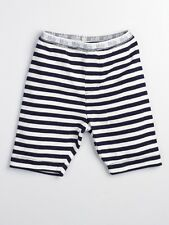 MIDA Boys Stripy Ribbed Cotton Leisure / Lounge Shorts - New size 1-2,3-4,5-6