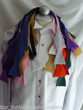 Any   Self-tied Bow tie with OR without Hankie + Instructions  P&P 2UK 1st Class