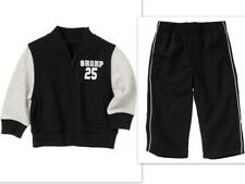 NWT Gymboree 12- 24 2T SLAM DUNK Sport Fleece Champ Jacket or Black Lined Pants