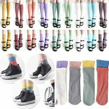 Worn in multiple Style Fashion Vintage Sock stockings Multiple colour hos093