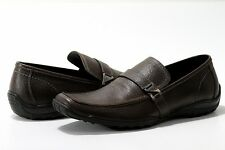 Kenneth Cole Men's Fashion Shoes Solid Ground LE Brown Loafers St# RM