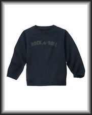 NWT  Gymboree Boys sz 3-4 ROCK ACADEMY Navy Blue Rock n Roll Sweater Pullover
