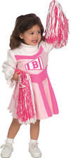 Barbie Cheerleader Uniform Pink White Cute Dress Up Infant Toddler Child Costume