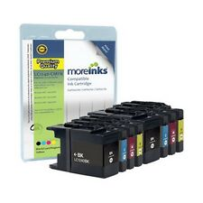 8 Compatible LC1240 LC1220 Ink Cartridges for Brother Printers - Multipack