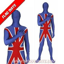 Morphsuit Union Jack Genuine Costume All Sizes Union Jack Morphsuits Morphsuit