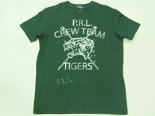 New with tag NWT Ralph Lauren Polo Boys Green Tiger SS Crew T-Shirt S M L XL