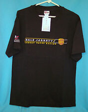 New Authentic Nascar Dale Jarrett #88 Black T-Shirt with Embroidered UPS Logo