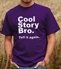 Cool Story Bro Tell it Again T-shirt, OFWGKTA Odd Future Tee Shirt Tshirt (D013)