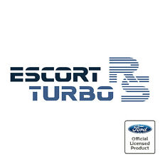 Ford Escort Mk3 RS Turbo Tailgate Decal Sticker RS S1 Series One