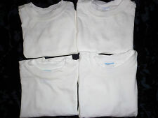 NW  Lot of 4 Baby Boy's Old Navy Shirts Short  Sleeve White Sz 3/6 mo to 4T