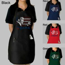 Full Length Dual Pocket Apron - Barack Obama - All Lyrics to America the Beauti