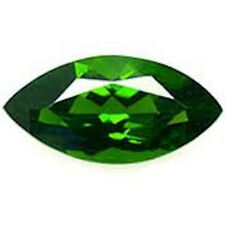 Marquise Faceted Bright Emerald Green Cubic Zirconia (5x2.5mm to 20x10mm)