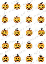 20- HALLOWEEN WATER SLIDE NAIL ART DECALS. PRETTY WITCHES PUMPKIN JACK O LANTERN