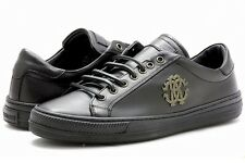 Roberto Cavalli Men's 6415 Black Fashion Sneakers Shoes
