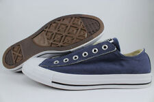 CONVERSE ALL STAR SLIP-ON OX CHUCK TAYLOR NAVY BLUE FADE/WHITE MENS ALL SIZES