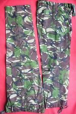 TWO PAIRS BRITISH ARMY 95 LIGHTWEIGHT JUNGLE/WOODLAND DPM/CAMOUFLAGE TROUSERS