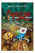 Adventure Time Collage Cartoon Network TV Large Maxi Wall Poster New