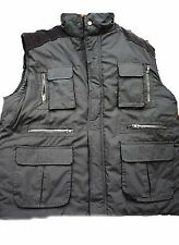 SHOOTING FISHING HUNTING BODYWARMER GILLIT MULTI POCKET QUILTED NEW 3XL 4XL 5XL
