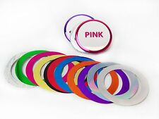 "3"" 3 Inch Mylar Metallic Foil Accent Rings for Button Making Machines - 100 pcs"