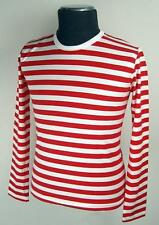 NEW MENS RETRO INDIE MOD SIXTIES STRIPED/STRIPEY T-SHIRT 60s Mods Brian Jones