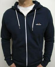 Ellesse Heritage 80s Format Hoody Zip Track Top in Navy - S,M,L,XL,2XL / WAS £40