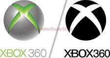 Huge XBOX 360 LOGO Center Button Decal Removable WALL STICKER Home Decor Art
