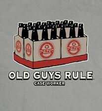 OLD GUYS RULE CLASSIC CASE WORKER GRAY TEE SHIRT