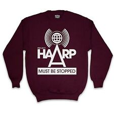 PROJECT HAARP CONSPIRACY MENS OR WOMENS  JUMPER SWEATER SWEATSHIRT ALL COLOURS