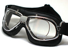 NEW NANNINI BIKER 4V Italian Motorcycle Goggles FREE SHIPPING for PRESCRIPTION G