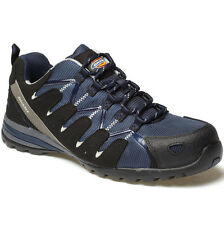 DICKIES TIBER NAVY SAFETY SHOES TRAINERS SIZE UK 6 - 12 FC23530 COMPOSITE MENS