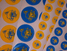 PITTSBURGH PANTHERS Football Helmet Awards Decals Qty (15) Full or Mini 3M 20MIL