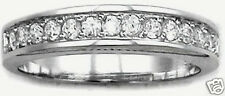 Stunning Cubic Zirconia CZ Ring Sterling Silver 925 Modern Band Jewelry Gift