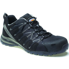 DICKIES TIBER SAFETY MENS WORK SHOES TRAINERS COMPOSITE BLACK SIZE 6-12 FC23530