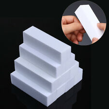 2 Nail File Sanding Buffer Block Acrylic UV Gel Manicure Pedicure More Colours