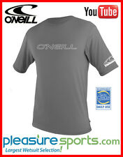 O'Neill Mens Rash Tee Loose Fit RashGuard Men's Short Sleeve 50+ UV Protection