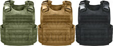 MOLLE PLATE CARRIER TACTICAL ASSAULT MILITARY VEST OLIVE BLACK BROWN