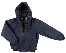 Rasco Fire Retardant BLUE DENIM Insulated Hooded Jacket